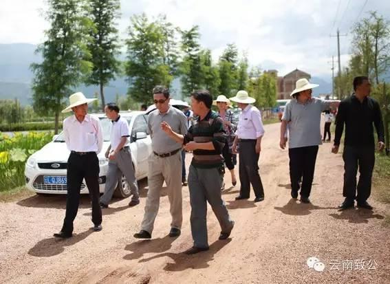 致公党云南省委调研组到洱源县考察调研