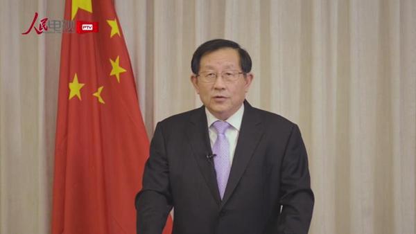 中国致公党中央委员会主席万钢寄语中国共产党成立95周年