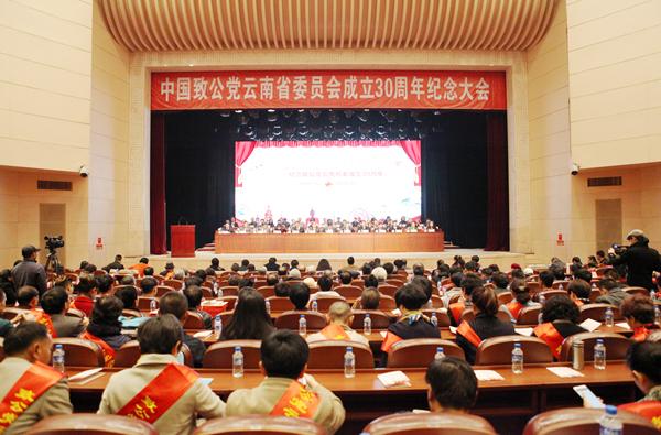 中国致公党云南省